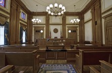 Empty Courtroom - Divorce lawyer, Child Custody
